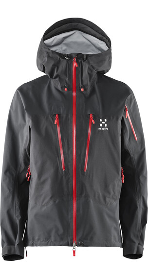 Haglöfs W's Spitz Jacket True Black/Real Red